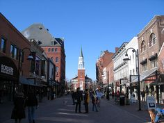 Burlington Vermont. Where I'd LOVE to live. Winter, Summer, Spring, & Fall