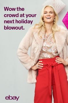 From festive dinners to office holiday gatherings, we're here to help you get party-ready this season. With a great selection of casual dresses, cute tops and more, you'll be set to wow the crowd in no time. Find your unique holiday style on eBay.