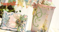 Dream of Spring card and lantern!