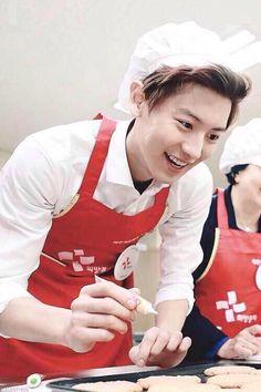 Park Chanyeol is probably the hottest Chef I've ever seen in my entire life