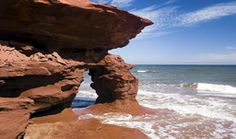 Prince Edward Island is known for its red sand beaches