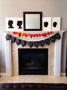 Three Layer #Thanksgiving garland created by Haley from Life is Sweet.
