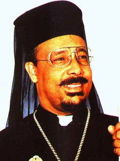 Africa: Egyptian Coptic priest, Luxor, Egypt