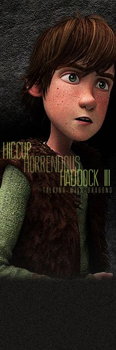30 Day DreamWorks Challenge Favorite Character: Hiccup Horrendous Haddock the Third
