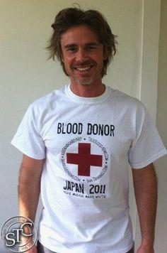 Sam Trammell: True Blood donor