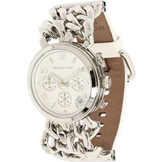 michael kors necklace chain | jewelry watches michael kors watches michael kors round double chain ...