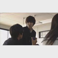 "[short clip] https://twitter.com/0221Htk/status/701716664052633600    cutie Ebato-kun 2  Kento Yamazaki, J drama based on a true story ""Yowakutemo Katemasu, 2014"