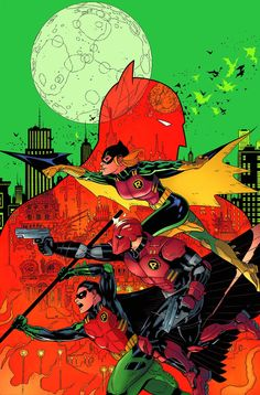 Batman and Robin (2011) Issue #36