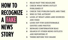 Nov. 23, 2016 - HuffingtonPost.com - Here's how to tell that a news story might be fake