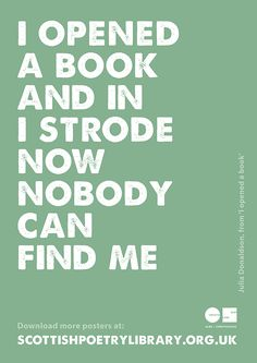 Julia Donaldson on Books -- Julia Donaldson on how you can lose yourself (and find yourself) in a book.