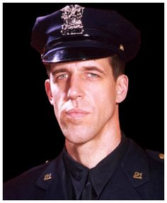 Fred Gwynne in uniform for Car 54 Where Are You