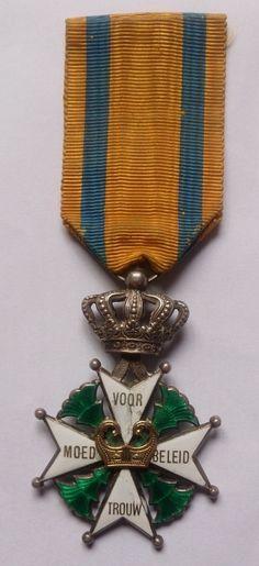 Militaire Willems-Orde/Military Order of William (Nederlandse dapperheidsonderscheiding ingesteld op 30 april 1815)