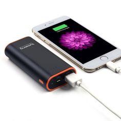 Lumsing 6700mAh Mini Caricabatterie Portatile Batteria Esterna più compatto Grand A1 Mini per iPhone 6S,6sPlus, 6Plus, 6, 5S, 5, 4S, 4, iPad Air, iPad Retina, Sumsung, Nokia (nero): Amazon.it: Elettronica