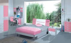 Trends Girls Bedroom Furniture. Little Small Spaces Childrens ...