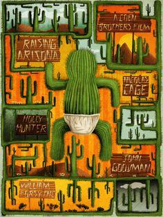 Raising Arizona - movie poster - David Amblard