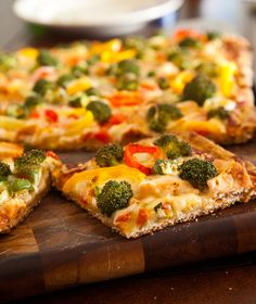 grilled chicken recipes | Grilled chicken, broccoli and Pepper pizza