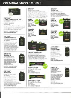So many great products offered through It Works Global. What is your need? We have a product for you :)