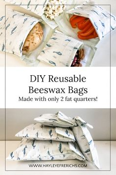 Diy Sewing Projects, Sewing Projects For Beginners, Sewing Crafts, Simple Projects, Upcycling Projects, Fat Quarters, Fat Quarter Projects, Diy Couture, Creation Couture