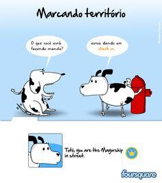 Expressão popular: MARCANDO TERRITÓRIO