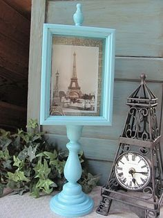 My Shabby Chateau: French Themed Shadow Box: A Fun Project!