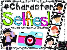 """#FREEBIE BY THE PINSPIRED TEACHER Character Selfies! Do your students have a cell phone? If they do, chances are they take """"selfies"""" (photos of themselves) all the time. Turn this favorite pastime into an activity that will strengthen their comprehension skills! Not to mention, you will be one cool teacher for these 21st century kids!   Examples of when to take character selfies: Guided reading Literature circles Independent reading response Response to a class read aloud"""