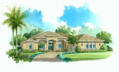 Magnolia New Home Plan in The Verandah: Arlington Oaks by Lennar