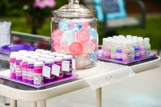 These inexpensive and creative bubble party ideas are perfect for either gender and all ages. This is such a fun theme for an outdoor summer party.