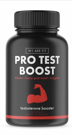 We Are Fit PRO TEST BOOST Testosterone Booster to Increase Testosterone, Libido & Energy, Tribulus Terrestris, Zinc. http://www.pickvitamin.com/we-are-fit-pro-test-testosterone-booster-90-capsules.html