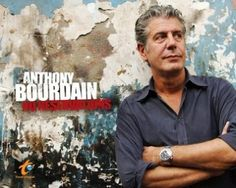 """Love him or hate him, Anthony Bourdain is one of the most compelling travel figures today. We admire his search for the delicious, unique, and occasionally bizarre destinations on his show """"No Reservations,"""" but what we like best is his (or his producer's) willingness to subject himself to eating fermented shark, sub-zero temperatures, and excruciating Central Asian massages. http://www.travelchannel.com/tv-shows/anthony-bourdain."""