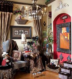 I love Donna Moss' style. It would be a dream come true to have her design and decorates my home.