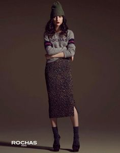 Irina Lazareanu Dons La Maison Simons' Fall 2013 Offerings Neo Grunge, Soft Grunge, Grunge Style, Punk Fashion, Grunge Fashion, I Love Fashion, Tokyo Street Fashion, Le Happy, Doc Martens