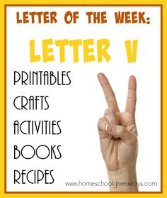 Teaching the letter V can be FUN and EASY with these resources. From {free}… Preschool Phonics, Preschool Letters, Letter Activities, Preschool Ideas, Preschool Age, Preschool Classroom, Preschool Crafts, Teaching Ideas, Kindergarten