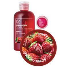 The Body Shop products...great fragrances and the body butter is really moisturizing