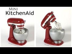 "Miniature ""KitchenAid"" Stand Mixer Tutorial"