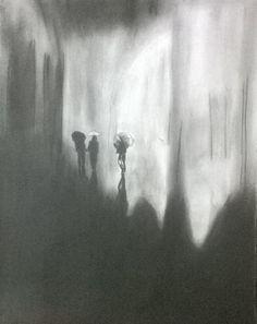 charcoal art