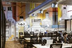 Great mural on this wework in Israel