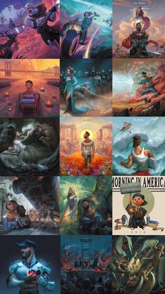 """Jon Bellion The cover art forThe Human Conditionwas created by David Ardinaryas Lojaya and Jacob Caljouw. Additionally, Lojaya and Caljouw created artwork for each of the tracks on the album. The recurrent themes throughout the fourteen pieces are """"...young Jon, current Jon, and the old Jon [as well as] a woman who is throughout all the things, and she should be the muse..""""."""