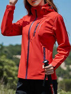 Sports Climbing Waterproof Long Sleeve Hooded Jacket - let s GO!   sportware sportoutfit  ec2736085a9ee