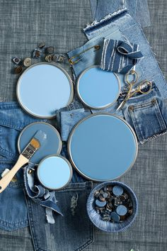 The Best Blue Paint Colors for Beautiful Walls You Won't Regret Light Blue Aesthetic, Blue Aesthetic Pastel, Aesthetic Colors, Color Palette For Home, Blue Colour Palette, Colour Palettes, Image Bleu, Best Blue Paint Colors, Bleu Pastel