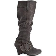 Boots Boots Boots I Love !!! Naughty Monkey    Juggernaut - Grey