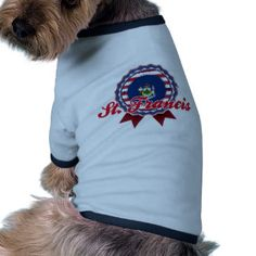 St Francis, ICH Hund T Shirts