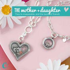 Mother & Daughter Lockets
