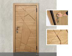 Flush Door Design, Single Door Design, Main Door Design, Modern Wooden Doors, Wooden Door Design, Modern Door, Bedroom Door Design, Door Design Interior, Latest Bathroom Designs