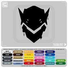 Genji S Mask Spray Paint