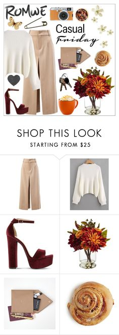 """""The glow of one warm thought is to me worth more than money."" - Thomas Jefferson"" by getterkagu ❤ liked on Polyvore featuring Chloé, Steve Madden, Nearly Natural, STOW, Fujifilm and The Body Shop"