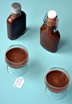 Narancsos csokilikőr – Csak a Puffin Cocktail Drinks, Cocktails, Ital Food, Liquor, Healthy Living, Xmas, Christmas, Food And Drink, Pudding
