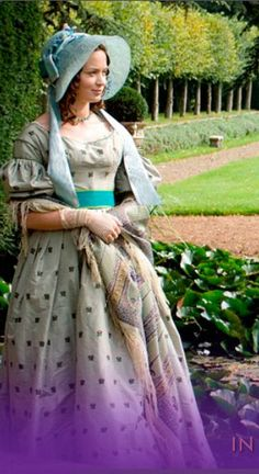 """""""The Young Victoria"""" {this reminds me, I need to finish the finishing touches of my version of this dress.}"""