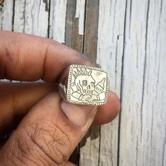 C x O x B x R x A x S  Pinky ring for the homie @cobraclips_  #juliocuellarhandmade