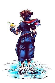 This game is soon hyped I can't wait man. Kingdom Hearts Tattoo, Kingdom Hearts Fanart, Final Fantasy, Sora Kh, Kingdom Hearts Wallpaper, Kh 3, Tetsuya Nomura, Kindom Hearts, Disney Tattoos