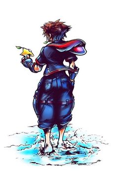 Kingdom Hearts 3 Sora Art By Emannland Kingdom Hearts